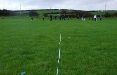 Measuring distance between the old goals
