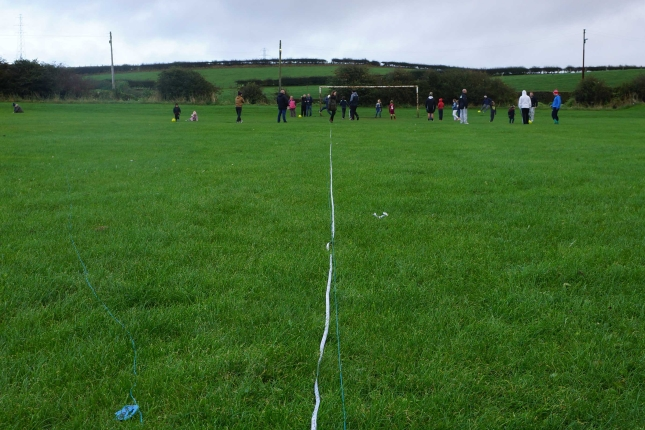 Measuring distance between the old goals