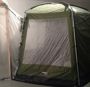 A portable sauna