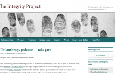 The Integrity Project website